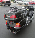 honda gl1800 2002 black goldwing 6 cylinders vtwin 5 speed 45342
