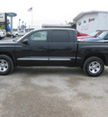 dodge dakota 2008 black laramie gasoline 8 cylinders 4 wheel drive automatic 62863
