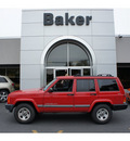 jeep cherokee 2001 red suv sport gasoline 6 cylinders 4 wheel drive automatic with overdrive 08844