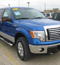 ford f 150 2011 blue flex fuel 8 cylinders 4 wheel drive 6 speed automatic 62863