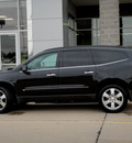chevrolet traverse 2010 black suv ltz gasoline 6 cylinders front wheel drive automatic 62034
