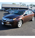 acura tl 2011 mayan bronze sedan w tech gasoline 6 cylinders front wheel drive shiftable automatic 07712