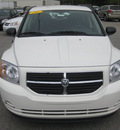 dodge caliber 2010 white hatchback sxt gasoline 4 cylinders front wheel drive automatic 62863