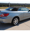 chrysler sebring 2008 silver limited gasoline 6 cylinders front wheel drive shiftable automatic 77065