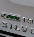 chevrolet silverado 1500 2010 silver lt flex fuel 8 cylinders 2 wheel drive automatic 76087