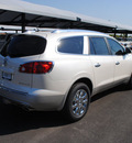 buick enclave 2012 white diam suv leather gasoline 6 cylinders front wheel drive automatic 76087