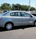 nissan sentra 2010 gray sedan 2 0 gasoline 4 cylinders front wheel drive automatic 55124