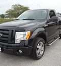 ford f 150 2010 black stx gasoline 8 cylinders 2 wheel drive automatic 60443