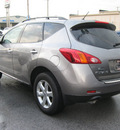 nissan murano 2009 lt  gray suv s gasoline 6 cylinders all whee drive automatic 45840