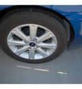 ford fiesta 2011 blue sedan se gasoline 4 cylinders front wheel drive automatic 77090
