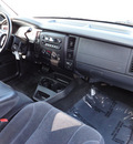 dodge dakota 2004 blue slt gasoline 6 cylinders 4 wheel drive automatic 45344