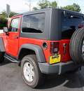 jeep wrangler 2008 red suv rubicon gasoline 6 cylinders 4 wheel drive 6 speed manual 07730