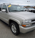 chevrolet suburban 2004 pewter suv 1500 lt flex fuel 8 cylinders 4 wheel drive automatic 60007