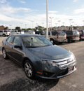 ford fusion 2012 blue sedan se gasoline 4 cylinders front wheel drive automatic with overdrive 60546