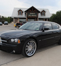 dodge charger 2006 black sedan rt gasoline 8 cylinders rear wheel drive automatic 76087