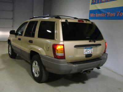 jeep grand cherokee 1999 gold suv laredo 4x4 gasoline 4 wheel drive automatic 55305