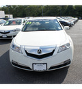 acura tl 2009 white diamond sedan w tech gasoline 6 cylinders front wheel drive shiftable automatic 07712