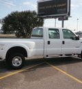 ford f 350 super duty 2001 white pickup truck crew cab xlt drw 4x4 diesel diesel diesel 4 wheel drive automatic with overdrive 56001