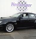 subaru impreza wrx 2008 obsidian black wagon sti gasoline 4 cylinders all whee drive 6 speed manual 80905