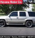 cadillac escalade 1999 silver suv custom wheels gasoline v8 4 wheel drive automatic with overdrive 80012