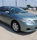 toyota camry 2010 green sedan le 4 cylinders front wheel drive automatic 75228