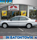 ford taurus 2004 silver frost sedan lx gasoline 6 cylinders front wheel drive automatic 07724