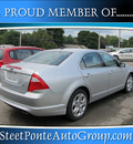 ford fusion 2010 silver sedan se gasoline 4 cylinders front wheel drive automatic 13350