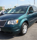 chrysler town country 2009 green van touring gasoline 6 cylinders front wheel drive automatic 60443