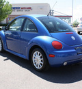 volkswagen new beetle 2004 blue hatchback gls tdi diesel 4 cylinders front wheel drive 80126