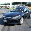 honda accord 2011 crystal black sedan ex l v6 gasoline 6 cylinders front wheel drive 5 speed automatic 07724