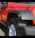 jeep wrangler 2008 red suv x gasoline 6 cylinders 4 wheel drive 75570
