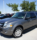 ford expedition el 2011 gray suv xlt flex fuel 8 cylinders 2 wheel drive automatic 76205