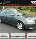 toyota camry 2006 dk  green sedan le gasoline 4 cylinders front wheel drive automatic 55448