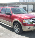 ford expedition el 2007 red suv eddie bauer gasoline 8 cylinders rear wheel drive automatic 33177