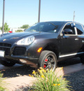porsche cayenne 2005 black suv turbo gasoline 8 cylinders all whee drive automatic 99352