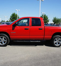 dodge ram pickup 1500 2008 red st gasoline 8 cylinders 4 wheel drive automatic with overdrive 46168