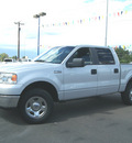 ford f 150 2007 silver clearcoat xlt gasoline 8 cylinders 4 wheel drive automatic 80911