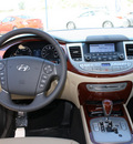 hyundai genesis 2012 dk  blue sedan 3 8l v6 gasoline 6 cylinders rear wheel drive automatic 94010