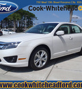 ford fusion 2012 white sedan se gasoline 4 cylinders front wheel drive automatic 32401