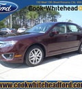 ford fusion 2012 dk  red sedan sel flex fuel 6 cylinders front wheel drive automatic 32401