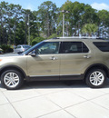 ford explorer 2012 gold suv xlt gasoline 6 cylinders 2 wheel drive automatic 32401