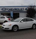 chevrolet impala 2010 white sedan ltz flex fuel 6 cylinders front wheel drive automatic 27591