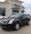 cadillac srx 2012 black rave suv luxury collection flex fuel 6 cylinders front wheel drive automatic 76087