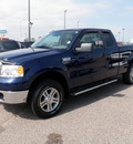 ford f 150 2007 dk  blue pickup truck sc xlt 4x4 flex fuel 8 cylinders 4 wheel drive automatic 56301