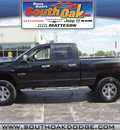 dodge ram 1500 2008 black big horn gasoline 8 cylinders 4 wheel drive automatic 60443