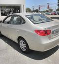 hyundai elantra 2010 beige sedan gasoline 4 cylinders front wheel drive automatic 78238