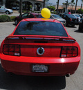 ford mustang 2007 red coupe gt gasoline 8 cylinders rear wheel drive automatic 91010