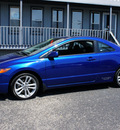 honda civic 2007 blue coupe si gasoline 4 cylinders front wheel drive 5 speed manual 47172