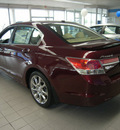 honda accord 2011 dk  red sedan gasoline 4 cylinders front wheel drive not specified 46219