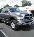 dodge ram 1500 2004 gray gasoline 8 cylinders 4 wheel drive automatic 32447